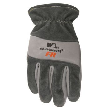 Men's Flame Resistant Leather Work Gloves, X-Large (Wells Lamont 1198XL)