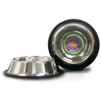 Stainless Steel Pet Bowl, 16 oz.