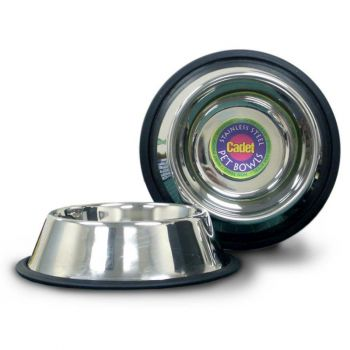 Stainless Steel Pet Bowl, 64 oz.