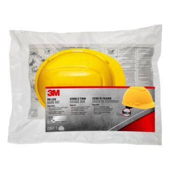 3M™ Hard Hat with Pinlock Adjustment, Yellow