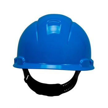 3M™ Hard Hat with 4-Point Pinlock Suspension, Blue