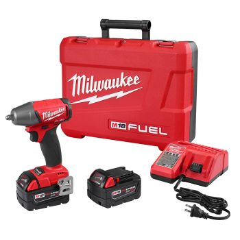 """M18 FUEL™ 3/8"""" Compact Impact Wrench w/ Friction Ring Kit"""