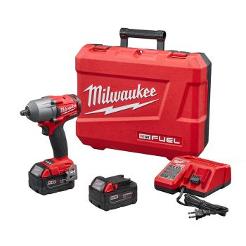 """M18 FUEL™ 1/2"""" Mid-Torque Impact Wrench with Friction Ring Kit"""