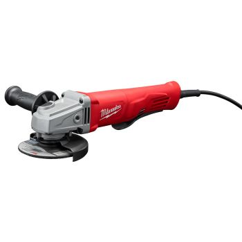 11 Amp Corded 4-1/2 in. Small Angle Grinder Paddle Lock-On