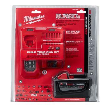 M18™ REDLITHIUM™ HIGH DEMAND™ 9.0 Starter Kit