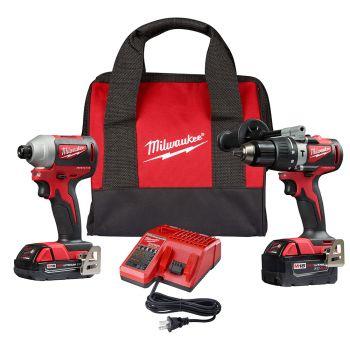 M18 Brushless 2-Tool Combo Kit, Hammer Drill/Impact Driver