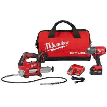 M18™ FUEL™ High Torque Impact Wrench and Grease Gun Kit