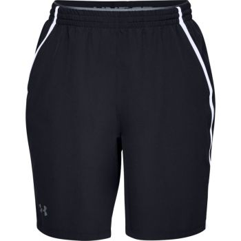 Men's UA Qualifier WG Perf Shorts, Black / White / Pitch Gray
