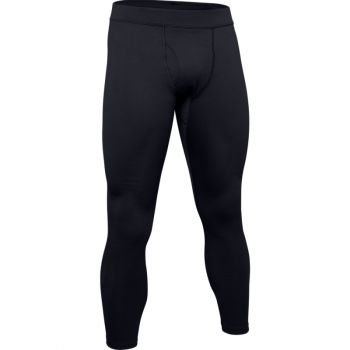 Men's UA Packaged Base 4.0 Legging, Black / Pitch Gray