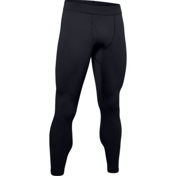 Men's UA Packaged Base 2.0 Legging, Black / Pitch Gray