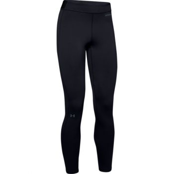 Woman's UA Base Legging 4.0, Black / Pitch Gray