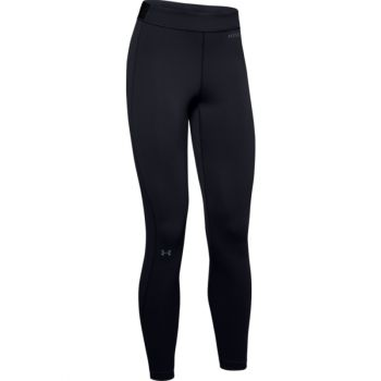 Woman's UA Base Legging 2.0, Black / Pitch Gray