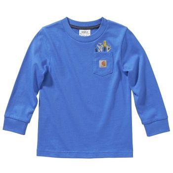 Carhartt Boy's Long Sleeve Tool Pocket T-Shirt (2T - 4T)