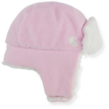 Sherpa Lined Trapper Hat, Rosebloom, Infant/Toddler