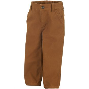 Boy's Canvas Dungaree, Carhartt Brown (2T - 4T)