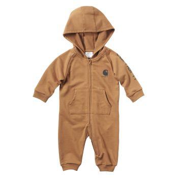 Carhartt Boy's Fleece Coverall, Carhartt Brown (3M - 24M)