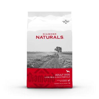 Diamond Naturals Adult Dog Lamb Meal & Rice Formula, 40 Lbs.