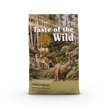 Taste of the Wild Pine Forest Canine Recipe Dog Food, 28 Lbs.