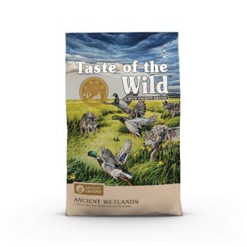 Taste of the Wild Ancient Wetlands Canine Recipe Dog Food, 28 Lbs.