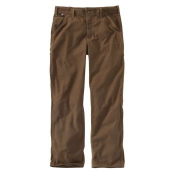 Men's FR Washed Duck Work Dungaree - Mid Brown