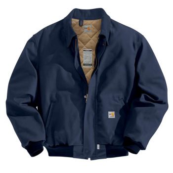 Men's FR Duck Bomber Jacket/Quilt-Lined
