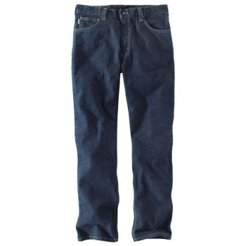 Men's FR Rugged Flex Jean, Straight Fit - Deep Indigo