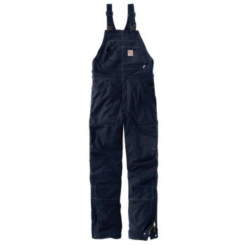 Men's FR Quick Duck Bib Overall/Quilt Lined