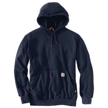 Men's FR Rain Defender Hooded Heavyweight Sweatshirt - Dark Navy