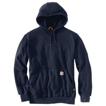 Men's FR Rain Defender Hooded Heavyweight Sweatshirt - Dark Navy