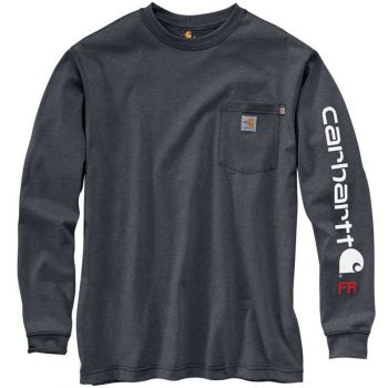 Men's FR Force Original Fit Midweight Long-Sleeve Signature Sleeve Logo T-Shirt