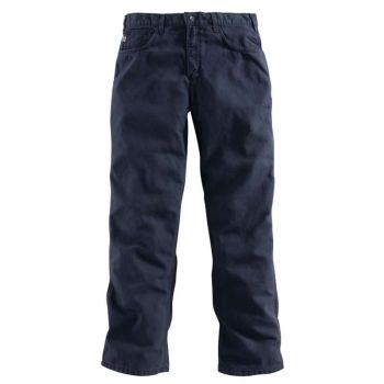 Men's FR Loose Fit Midweight Canvas Pant - Dark Navy