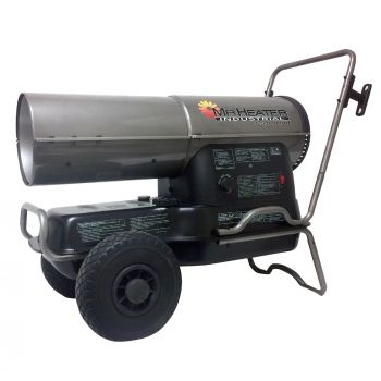 125,000 BTU Forced Air Kerosene Heater