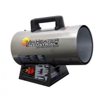 30,000 - 60,000 BTU Forced Air Propane Heater with QBT