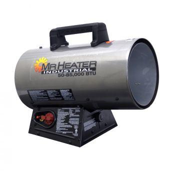 50,000 - 85,000 BTU Forced Air Propane Heater with QBT