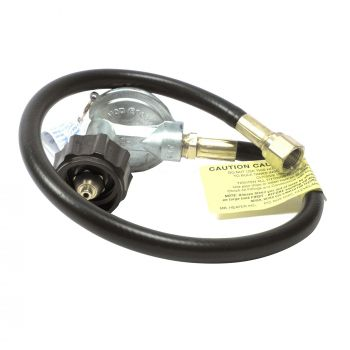 """22"""" Propane BBQ Hose & Regulator Assembly with Appliance End Fitting  and Acme Nut"""