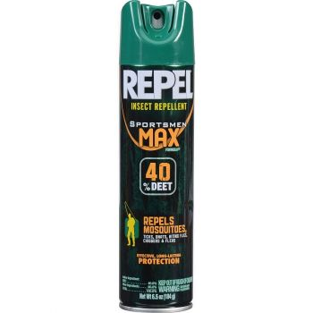 Repel Sportsmen Max Formula Aerosol Spray, 6.5 oz.