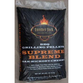 Lumber Jack Supreme Blend Pellets, 40 Lbs.