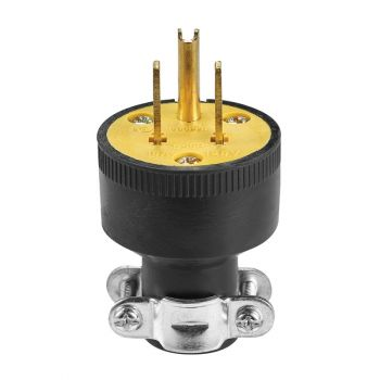 Eaton 15A 125V Rubber Plug 2-Pole, 3-Wire