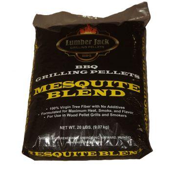 Lumber Jack Mesquite Blend Pellets, 20 Lbs.