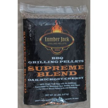 Lumber Jack Supreme Blend Pellets, 20 Lbs.