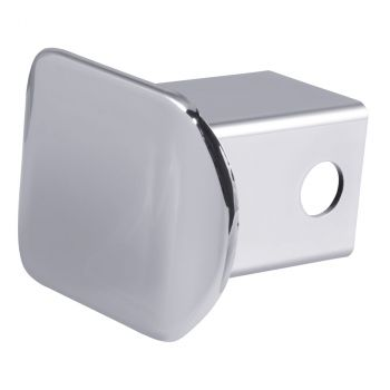 "2"" Chrome Plastic Hitch Tube Cover (Packaged)"