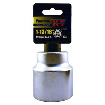 "3/4"" DR. X 1-13/16"" 12 PT Regular Socket"