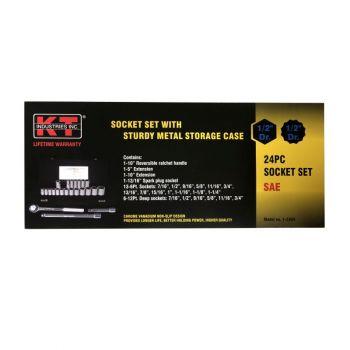 "1/2"" DR. X 23 PC. Socket Set"
