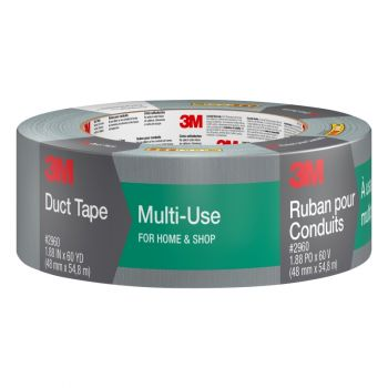"3M™ #2960 Scotch Multi Use Duct Tape, 1.88"" x 60 Yd"