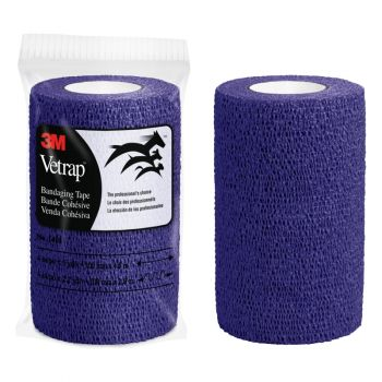 "3M™ Vetrap™ Bandaging Tape – 4"", Purple"