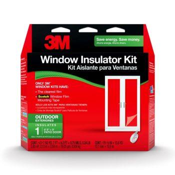 3M™ Outdoor Window Insulator Kit, Patio Door
