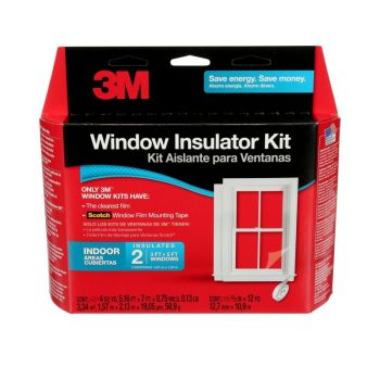 3M™ Indoor Window Insulator Kit, 2 Windows