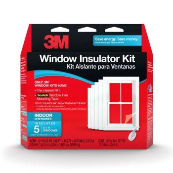3M™ Indoor Window Insulator Kit, 5 Windows