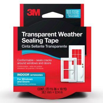 3M™ Transparent Weather Sealing Tape, 1.5