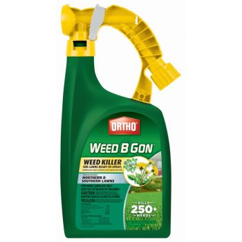 Ortho® Weed B Gon® Weed Killer for Lawns Ready-To-Spray, 32 Oz
